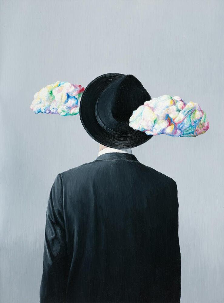 Nube de Magritte