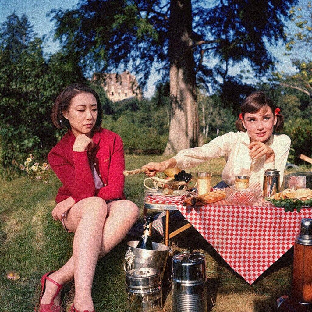 Audrey Hepburn & Celine Liu