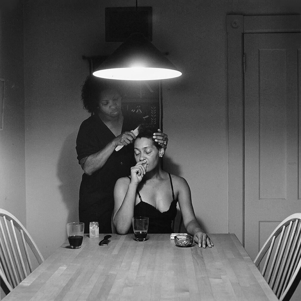 Untitled (Brushing Hair)