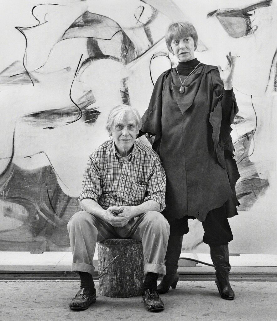 Willem and Elaine de Kooning, East Hampton, New York