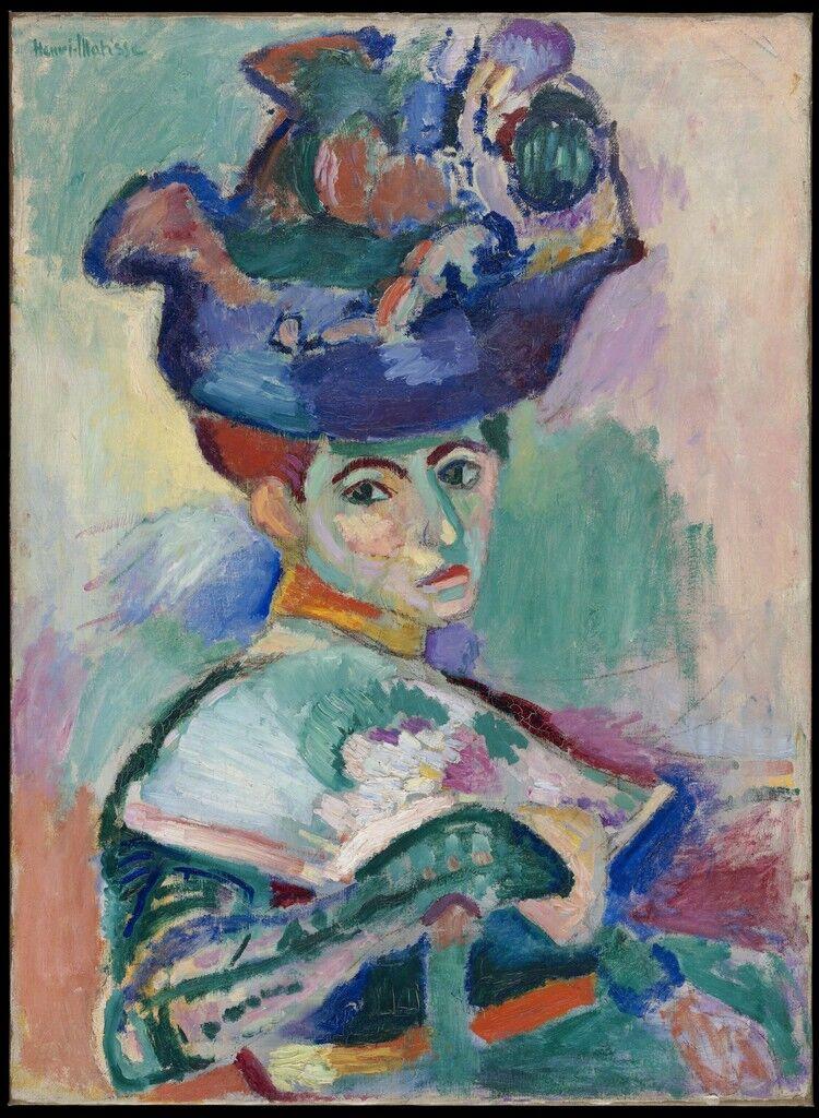 Femme au chapeau (mujer con sombrero)