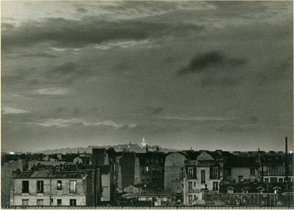 Paris, Sacre Couer: Thunderstorm on Bastile Day