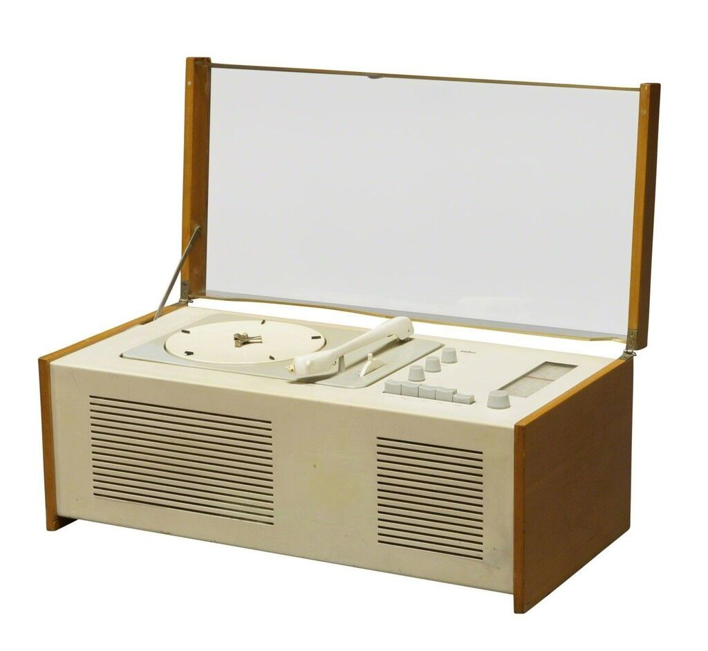 a model SK 4/10 radio-phonograph for Braun AG, Germany