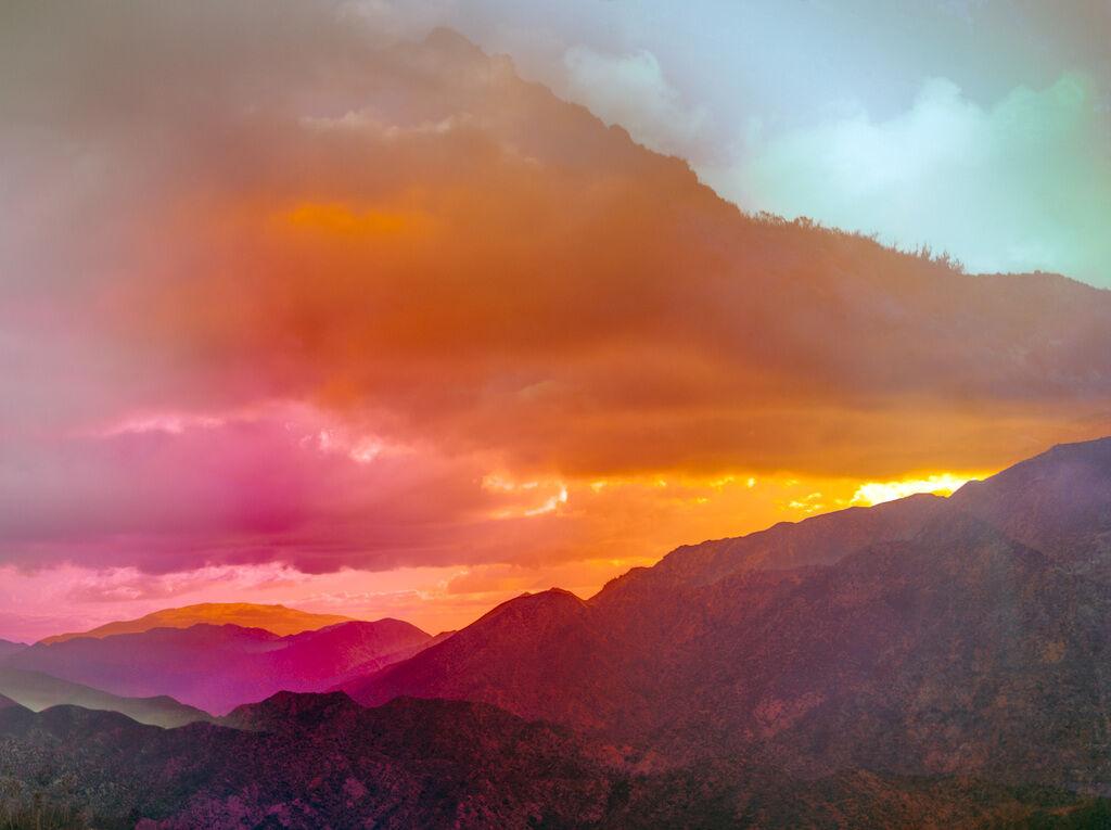Psychscape 661 (San Gabriel Peak, CA)