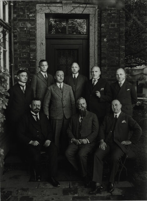 Group of Mayors, 1928
