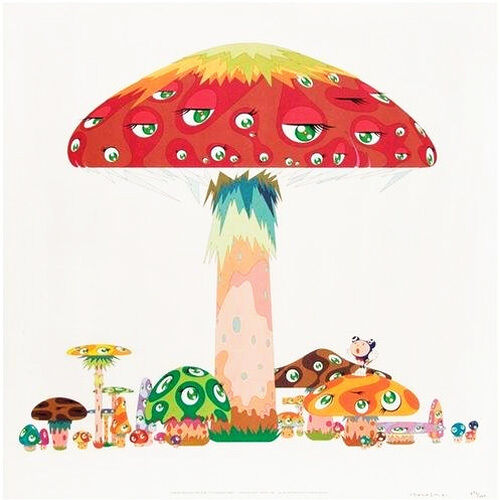 A Master Mushroom with DOB in The Strange Forest