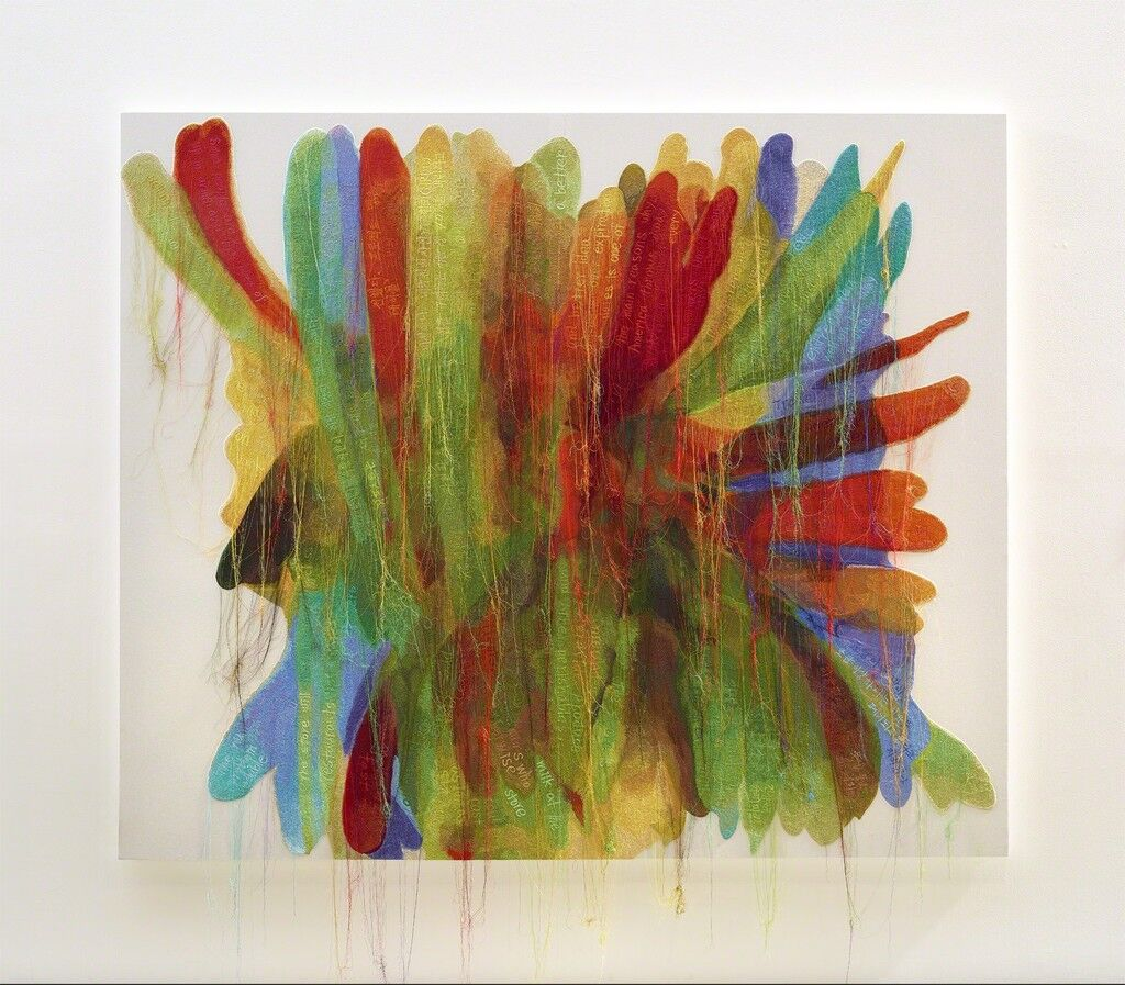 Abstract Weave / Morris Louis Untitled A