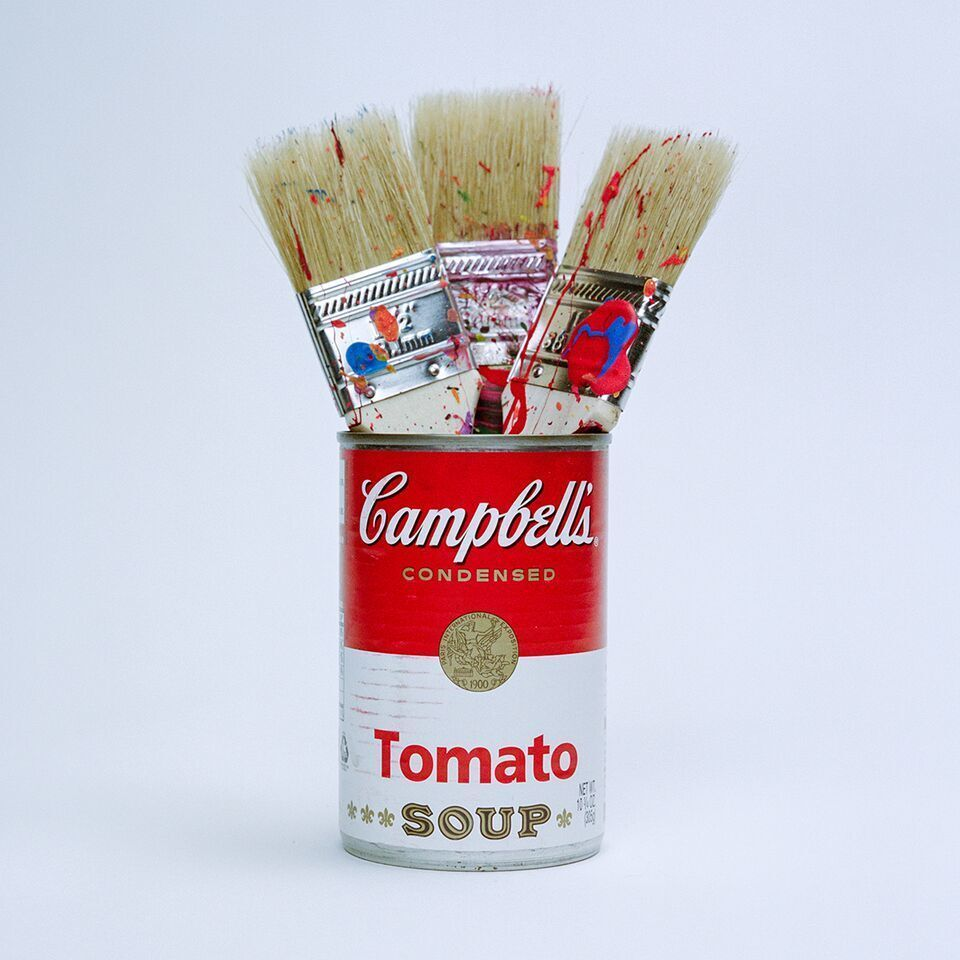 Warhol Paint Brushes