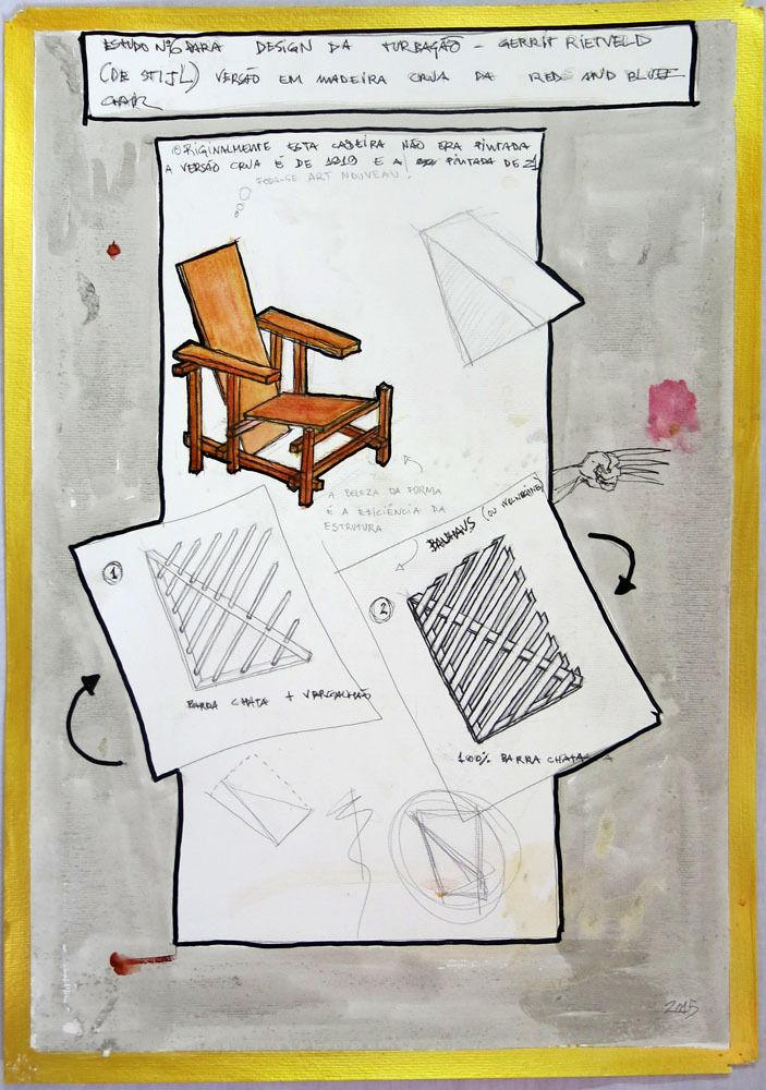 Estudo n° 6 para Design da Turbação [Study n°6 to Design of Disturbance]