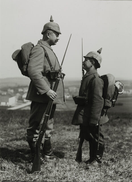 Military Height Differences, 1915
