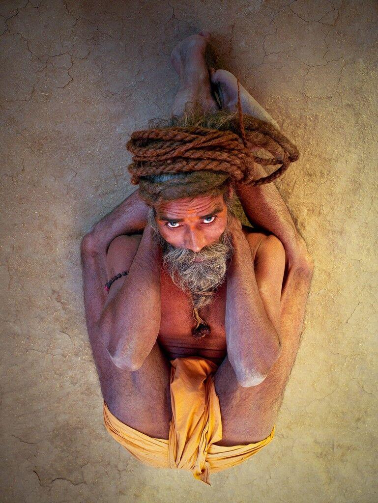 Sleeping Yogi Pose