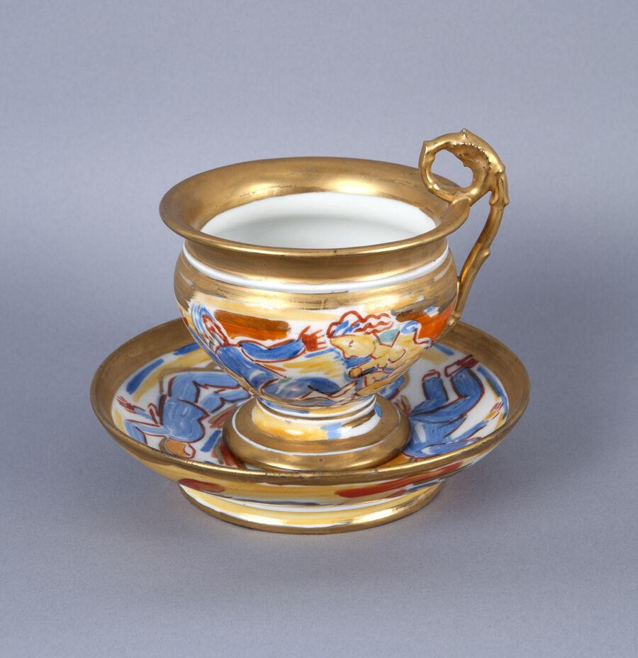 Untitled (Cup and Saucer) A la Manufacture de Sevres Series