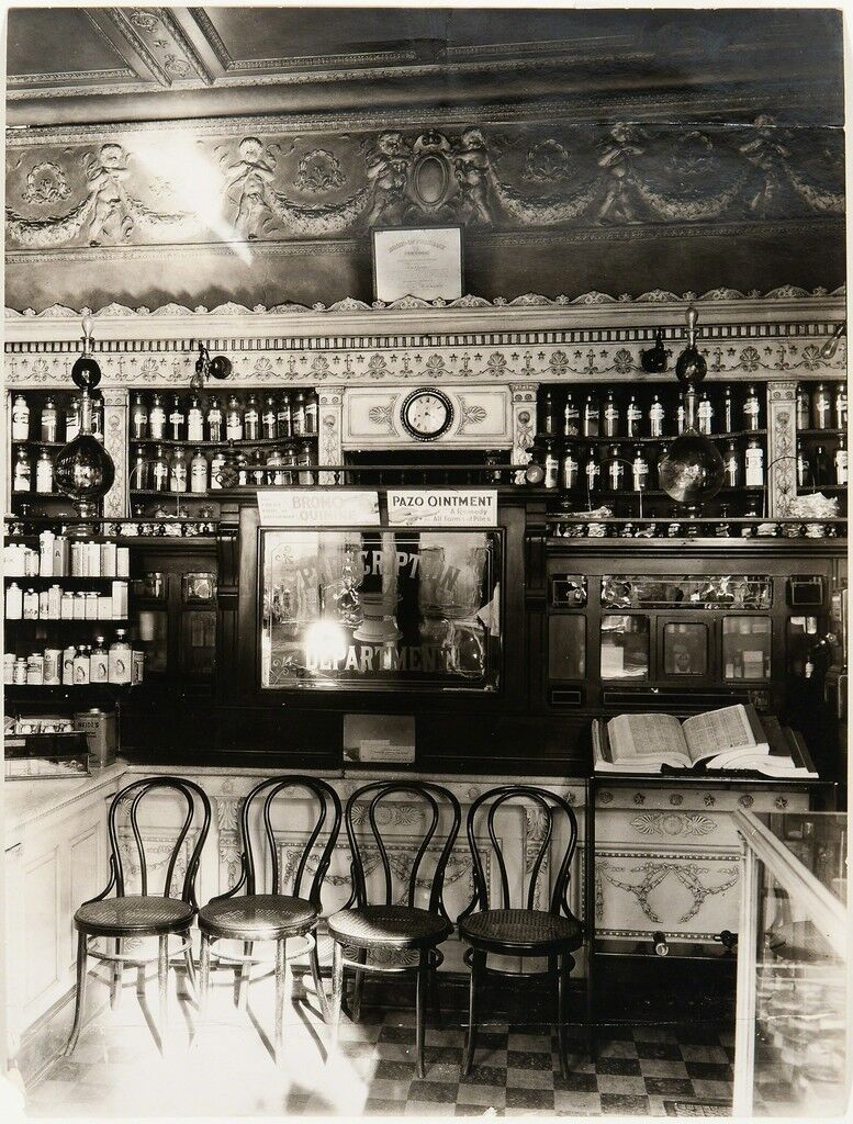 Pharmacy Interior, Paris