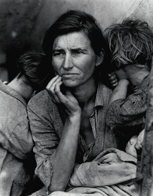 Migrant Mother, Nipomo, CA