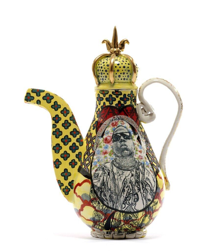 The Notorious B.I.G. / bell hooks Teapot