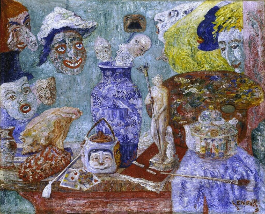 Still Life with Masks (Bric à Brac)
