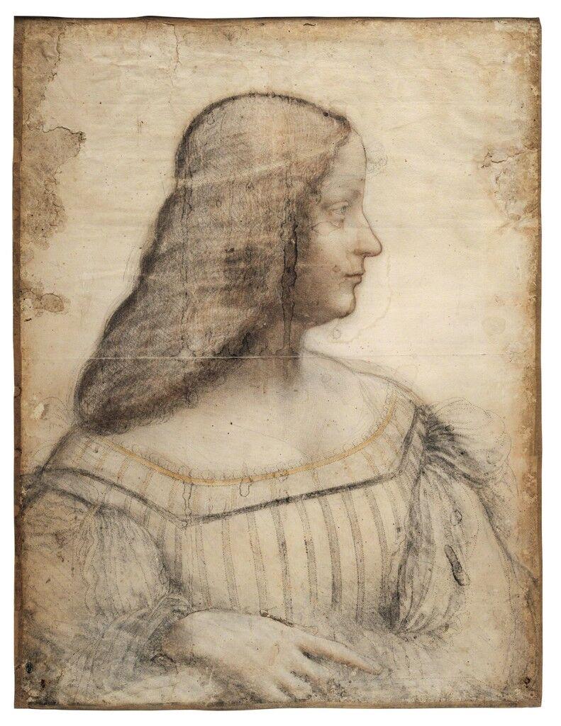 Portrait d'Isabelle d'Este (Portrait of Isabella d'Este)