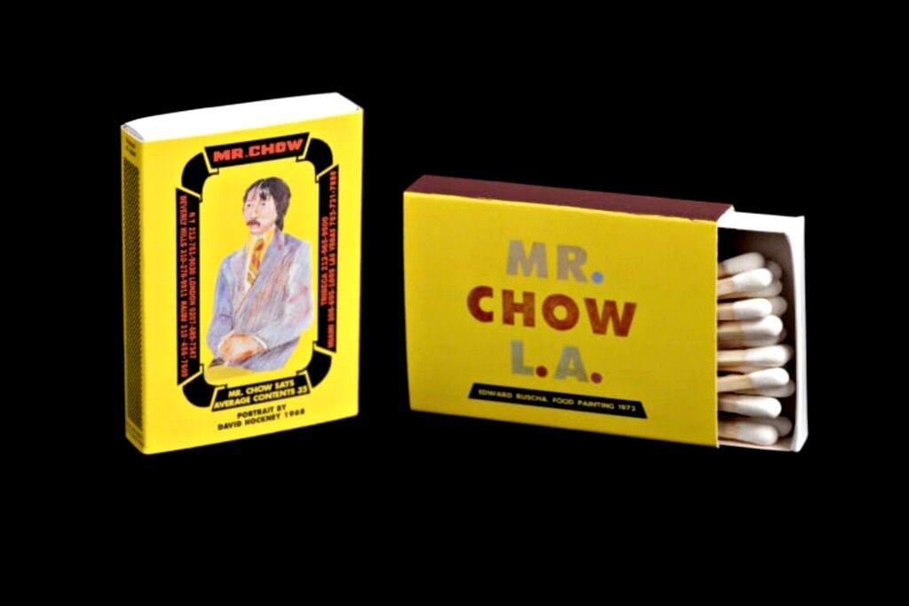 Mr. Chow Matchbox