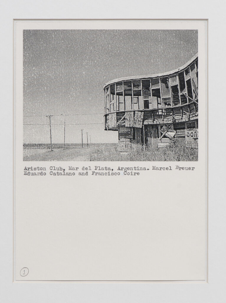 Untitled (Collection of modernist houses in ruins)