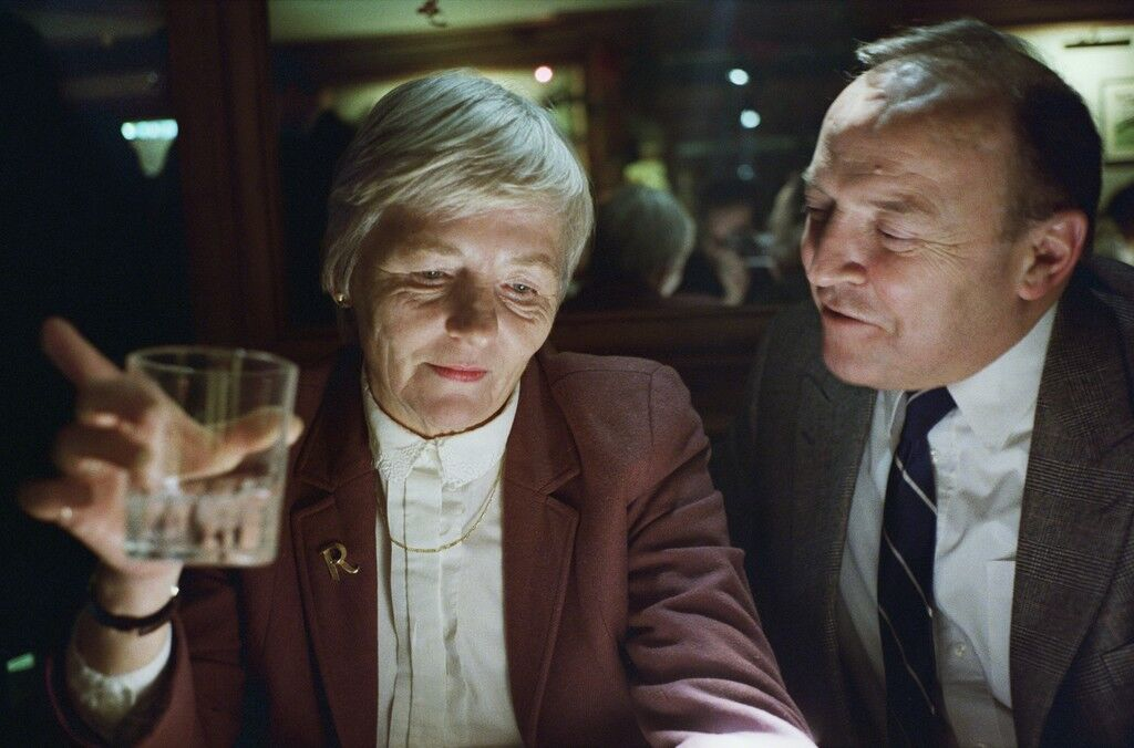 My Mother and Father at the Bar, London