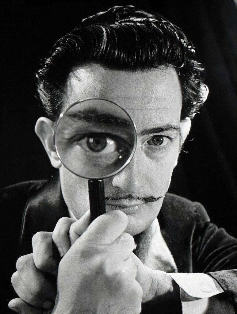 Spanish painter Salvador Dali