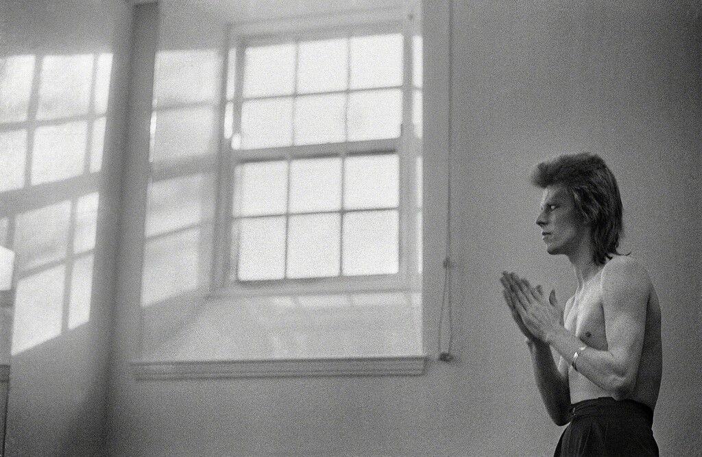 Bowie Praying by Windows