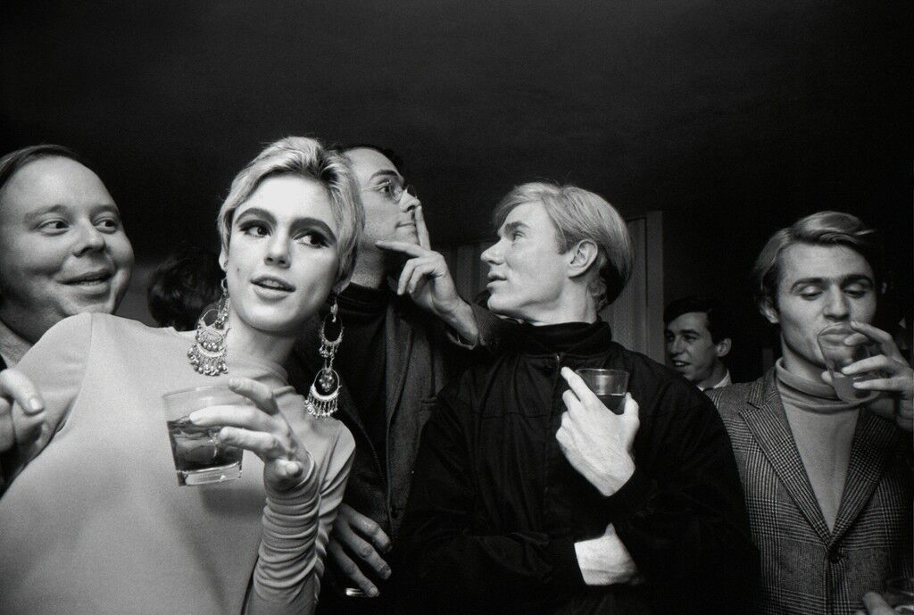 Andy Warhol, Edie Sedgwick and Entourage, New York