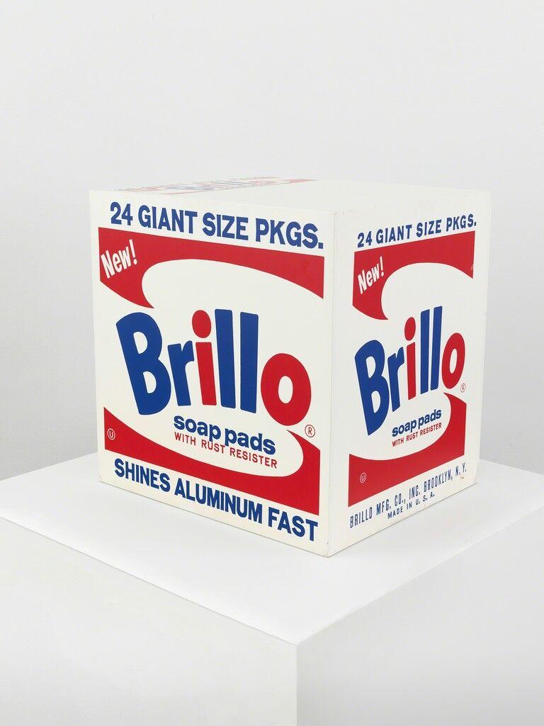 Brillo Soap Pads Box
