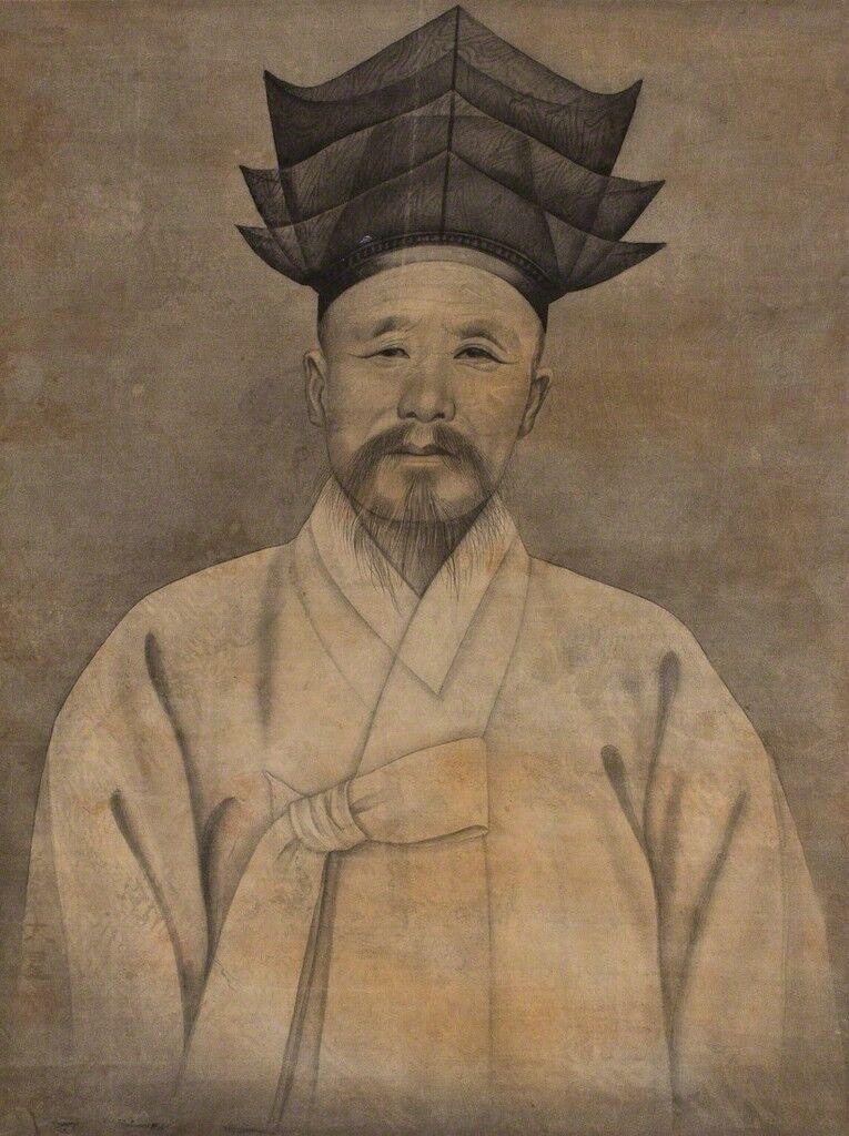 Portrait of an Elder with Confucian Hat