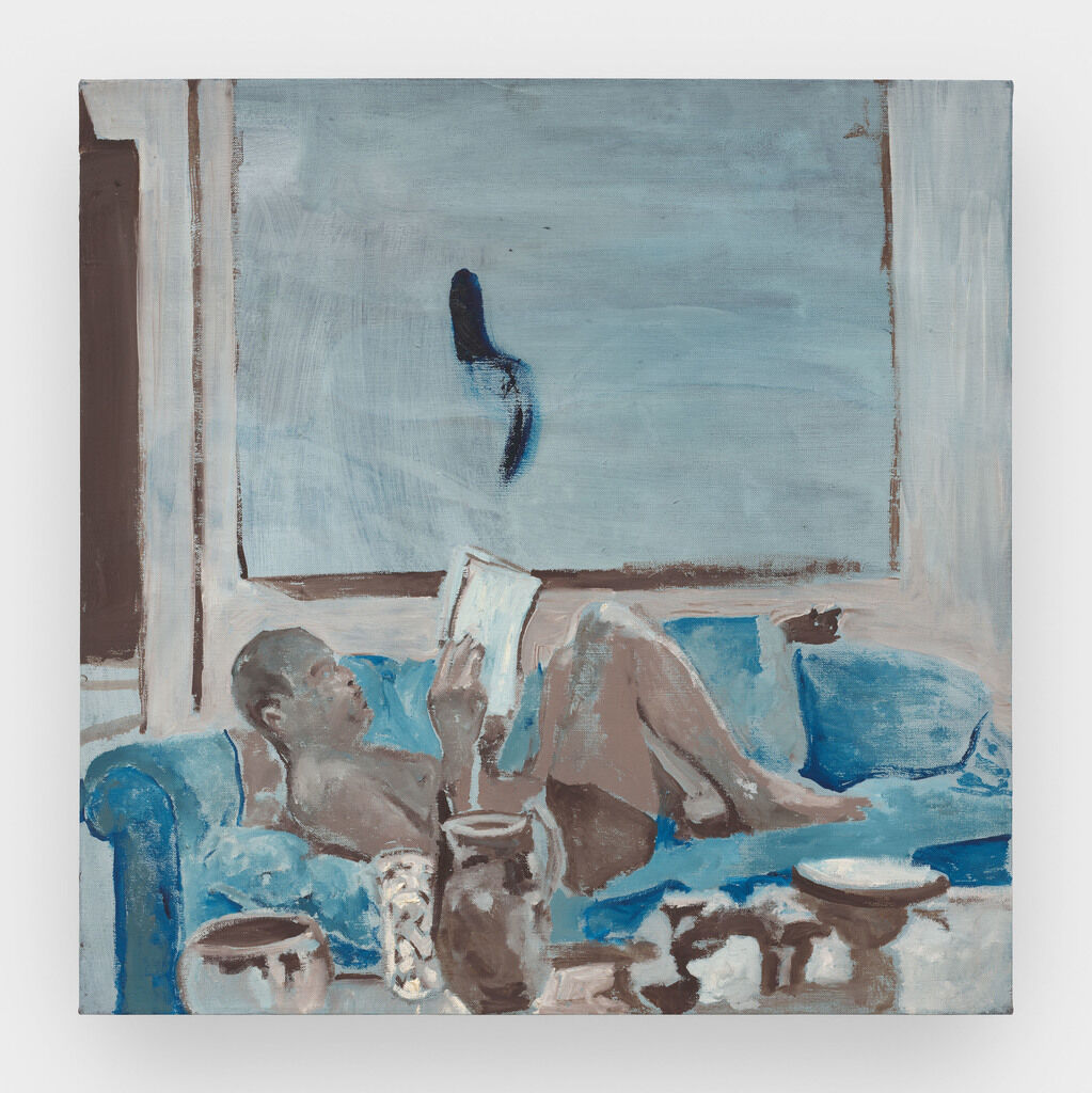 Untitled (Man on Couch)