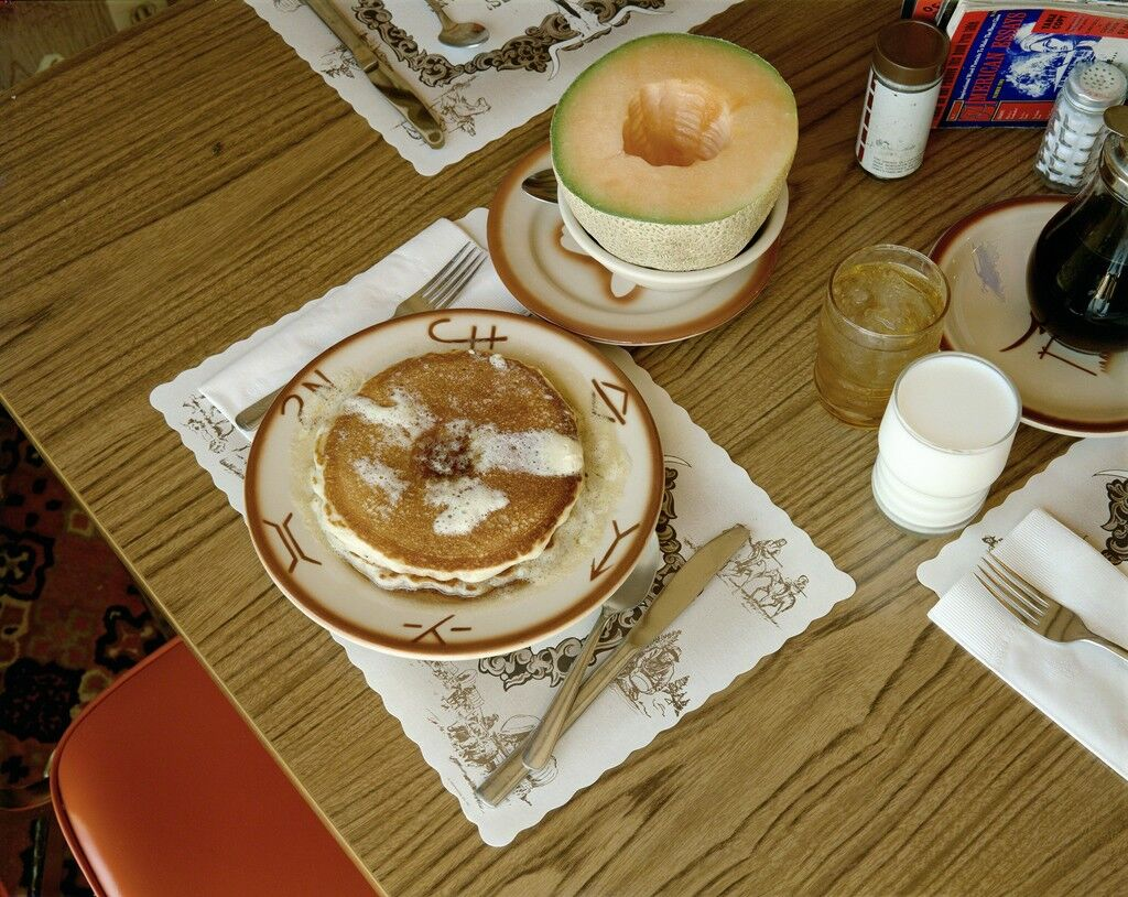 Breakfast, Trail's End Restaurant, Kanab, Utah, August 10, 1973