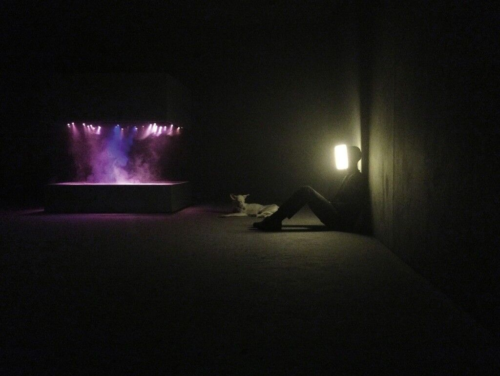Installation view of the exhibition, Pierre Huyghe, at the Centre Georges Pompidou