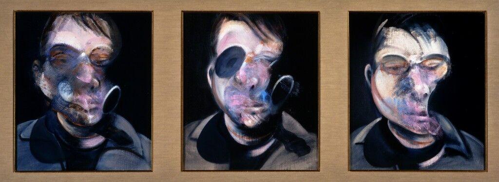Three Studies for Self-Portrait