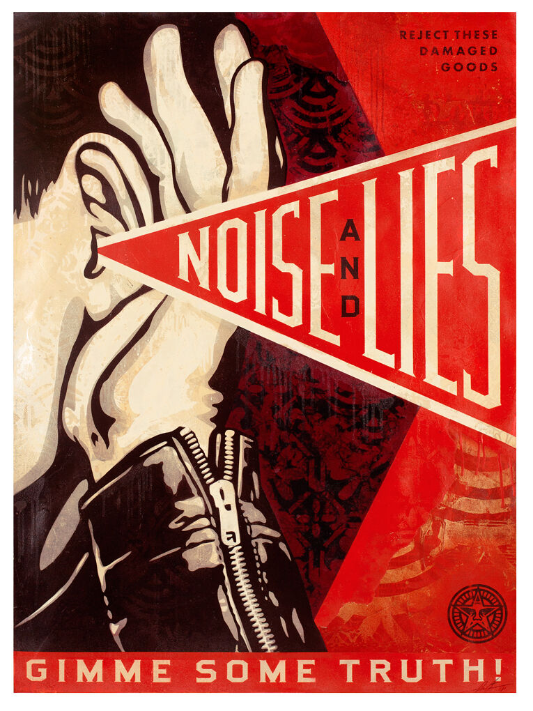 Noise and Lies (Red)