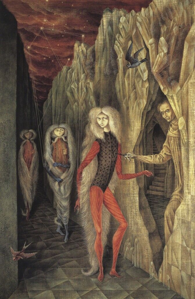 Remedios Varo's Surrealist Paintings Inspire Witches and Academics