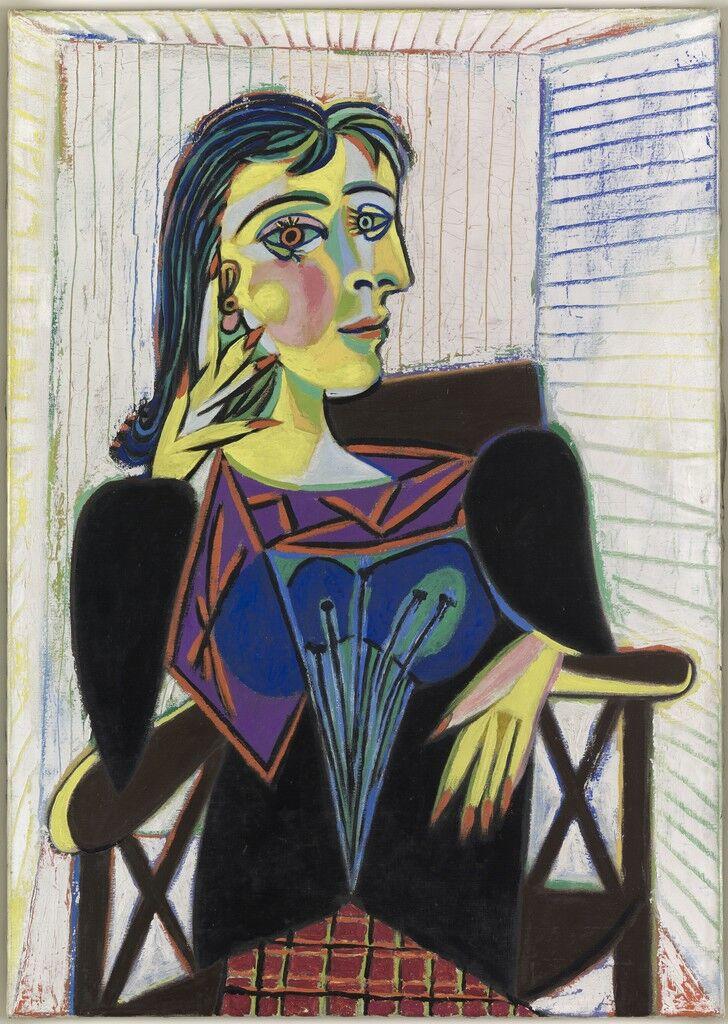 Portrait de Dora Maar (Portrait of Dora Maar)