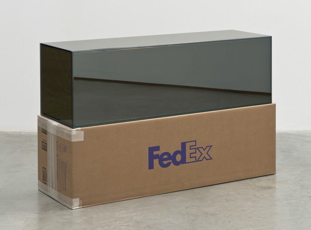 FedEx Golf-Bag Box 2010 FedEx 163166 REV 10/10, Standard Overnight, Los Angeles-Miami trk#797200539928, November 20-21, 2013