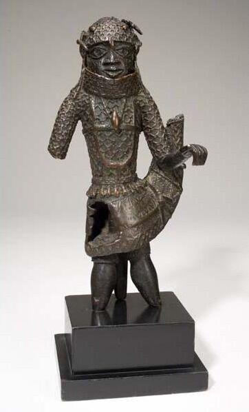Figure of an Edo King (Oba)