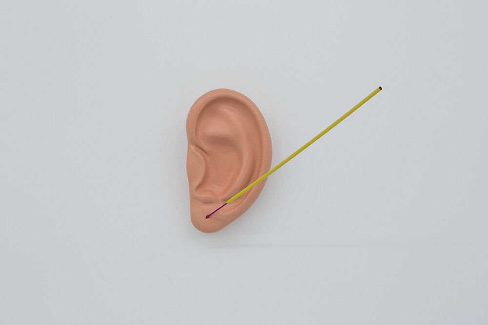 An Ear with Incense