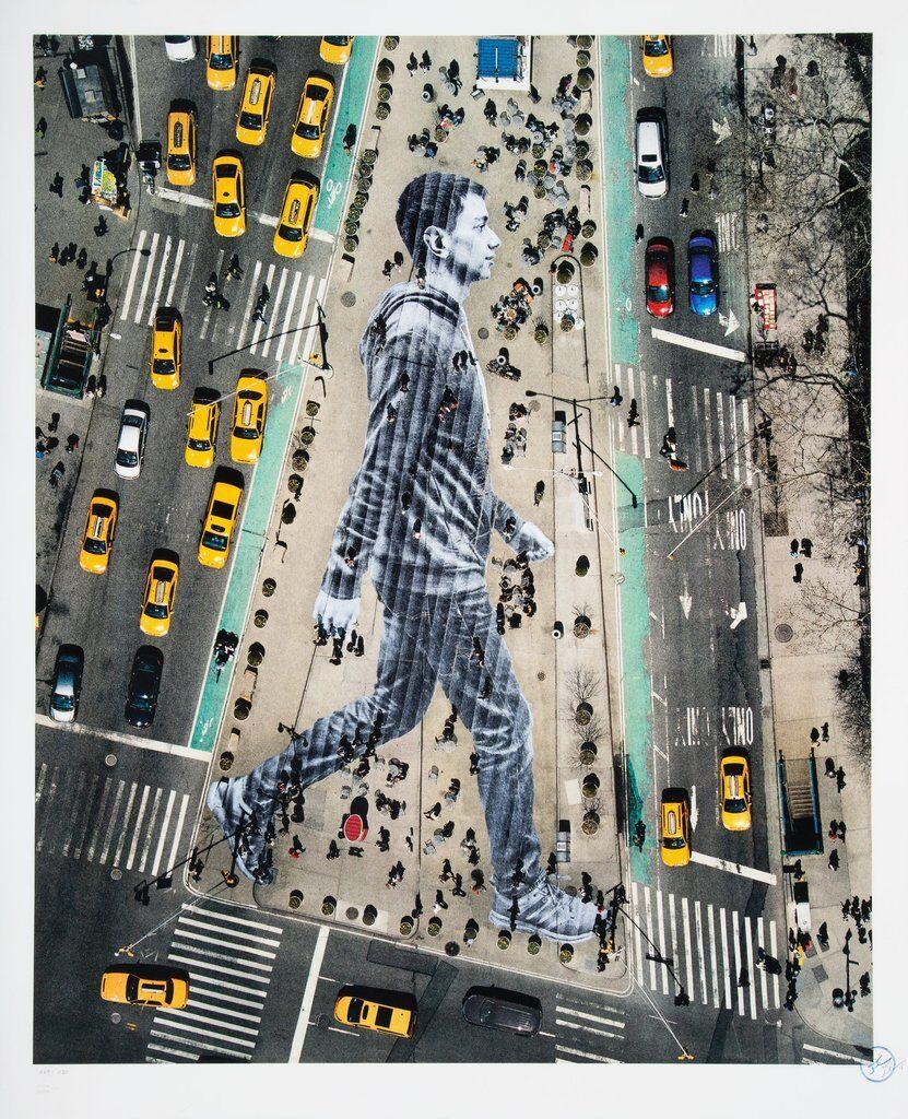 Migrants, Walking New York City