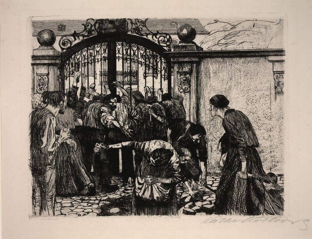 Untitled [Weaver's Revolt (Sturmaus Ein Weberaufstand)]