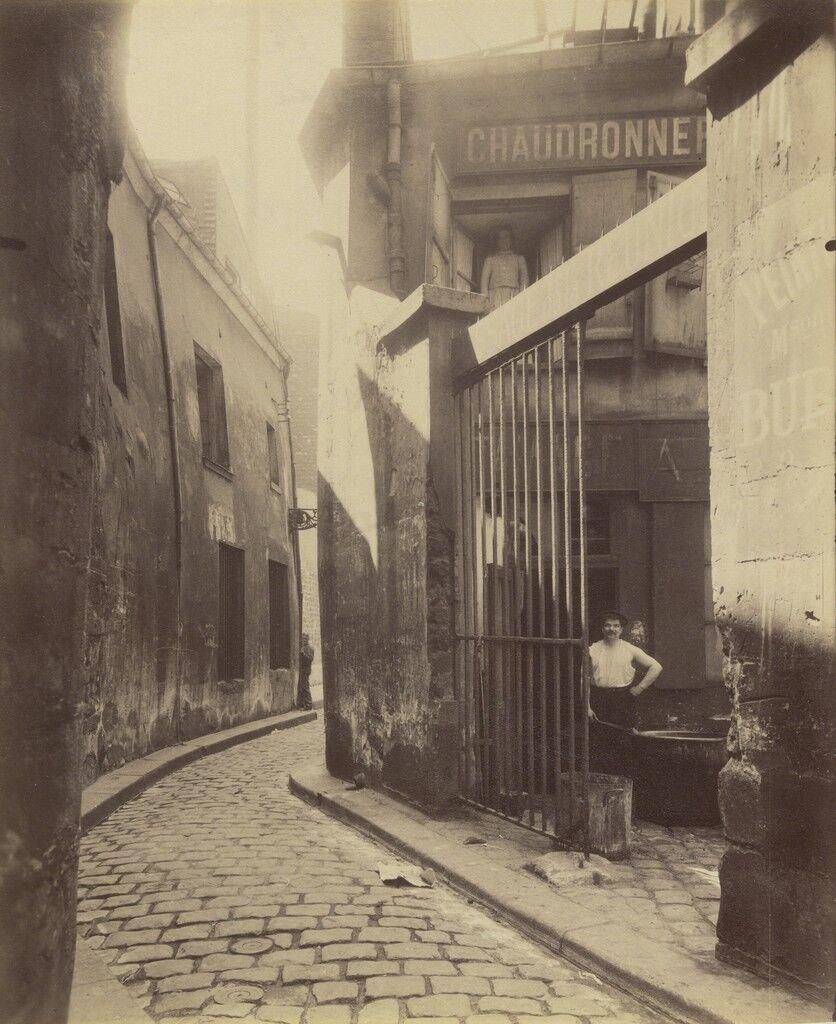 Entr'e du passage de la R'union, 1 et 3 Rue du Maure, 3ø arrondissement