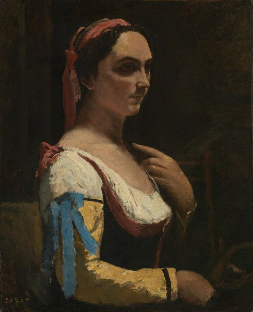 L'Italienne ou La Femme a la Manche Jaune (The Italian Woman, or the Woman with Yellow Sleeve)