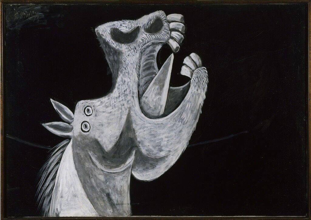 Etude pour Guernica (Tête de cheval)
