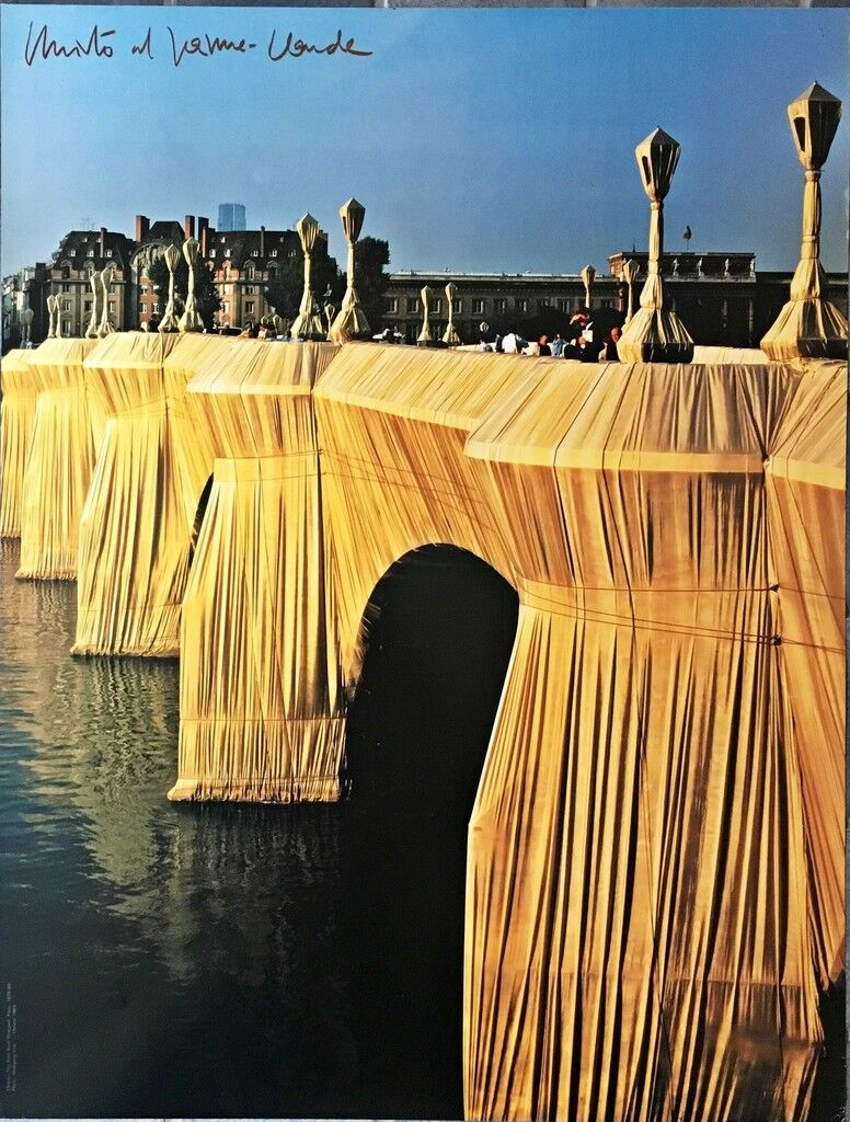 The Pont Neuf Wrapped (Hand Signed)