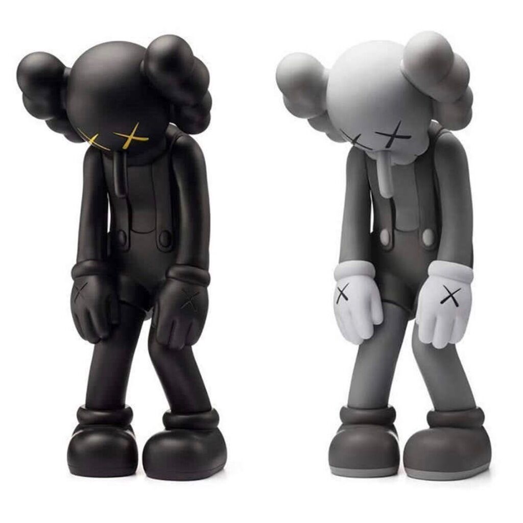 KAWS Small Lie: Set of 2 (KAWS Companion)