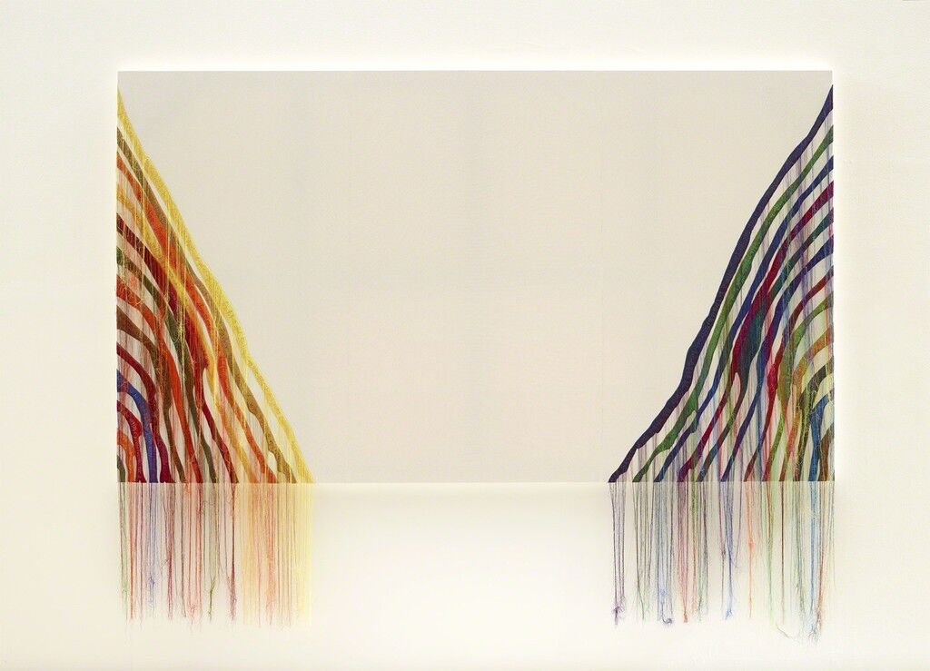 Abstract Weave / Morris Louis Theta 1961