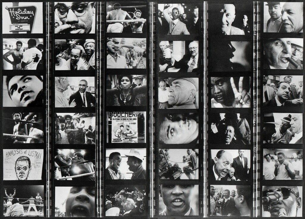 Tiras de película de Muhammad Ali - The Greatest