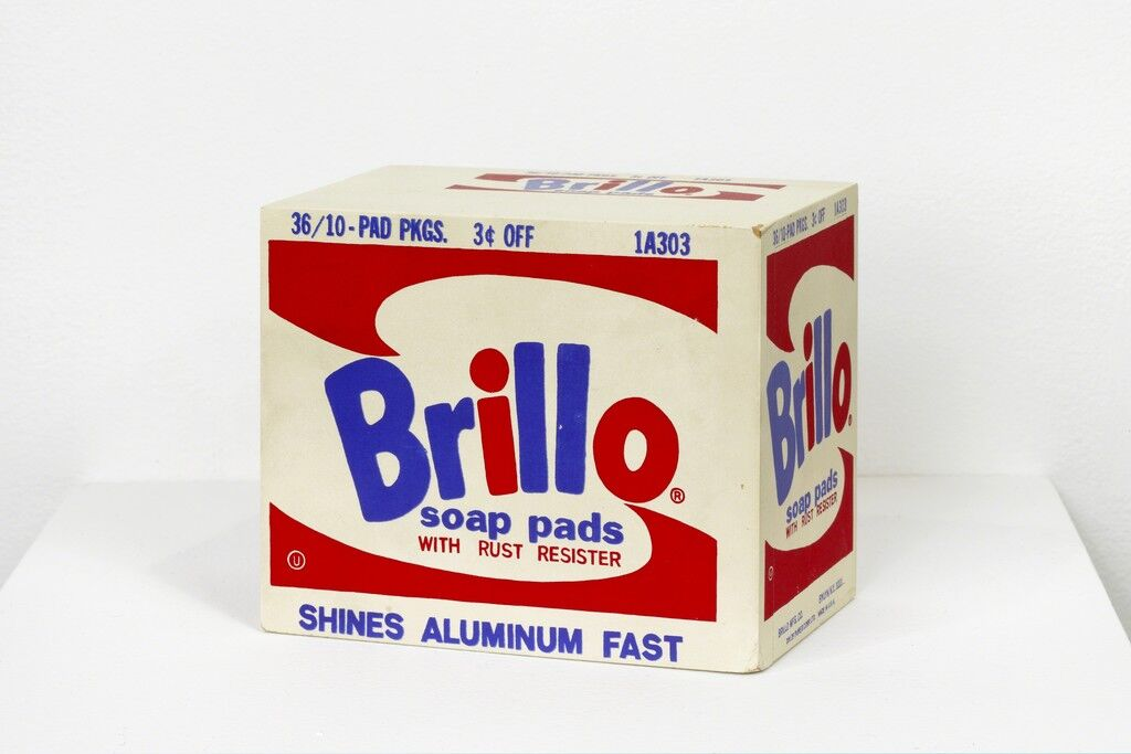 "Andy Warhol ""Brillo Box, 1964."""