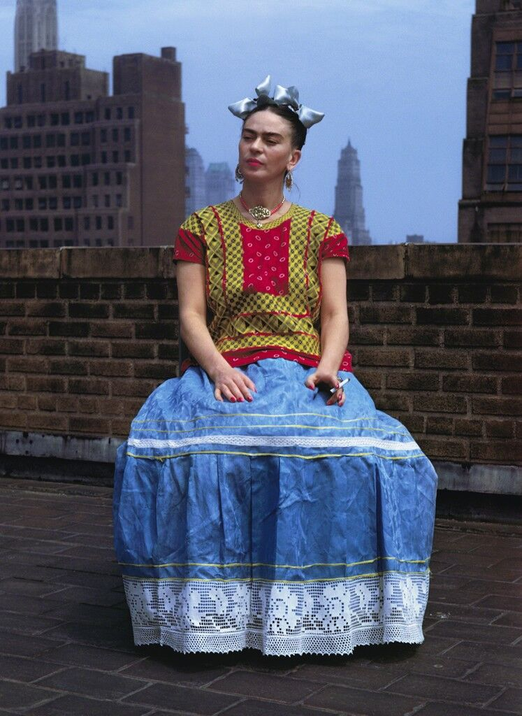 Frida On The Rooftop, New York